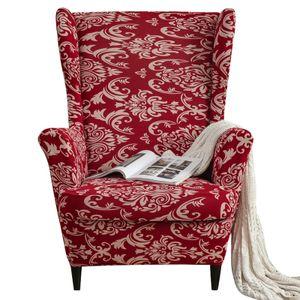 Stretch Ohrensessel Sofa Schonbezug Bedruckte Elasthan Sofabezüge Möbelschutz Rutschfest Weich, Sherlock