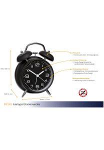 TFA 60.1025.01 Metall-Glockenweckerr ohne Batterie