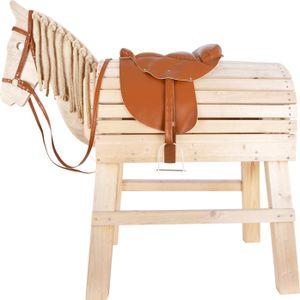 SMALL FOOT Sattel und Zaumzeug-Set für Holzpferd