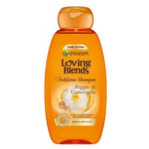 Garnier Loving Blends 3600542229432, Unisex, Nicht-professionell, Shampoo, trockenes Haar, Stumpfes Haar, 300 ml, Reparatur, Glanz, Glättend, Weichmachend