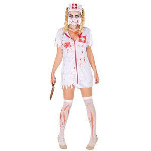 dressforfun Frauenkostüm sexy Zombie Krankenschwester - XL