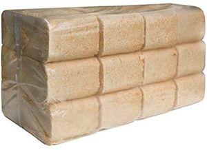 JSM-Brennholz - Kiefer Holzbriketts - 2 Pakete, 12 Briketts im Paket - 20 kg