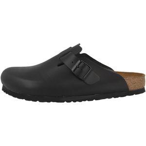 BIRKENSTOCK Boston  Clogs Pantoffel Hausschuhe Schwarz Schuhe, Größe:44