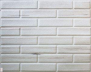 PVC-Verkleidung PVC FLIESEN Wandverkleidung Wandblender Wandpaneelen Marmor ZIEGEL(0,25qm)