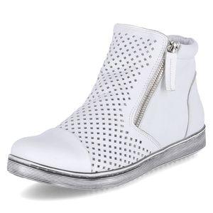 Andrea Conti Damen Schuhe Boots Weiß 0349615-001, Größe 39
