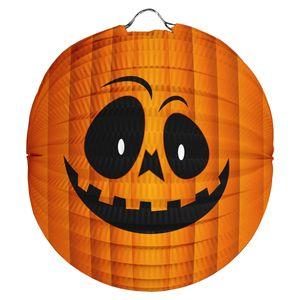 Kinder Laterne aus Papier Laternenstäbe Zuglaterne St Martin Halloween Deko Kürbisgesicht