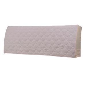1 Stück Crystal Velvet Bett Kopfteil abdecken Farbe Cream_59inch