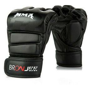 MMA Handschuh Kickboxen Boxen Training Muay Thai Kampfsport Grappling Freefight Größe M schwarz