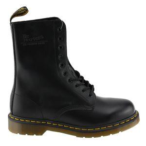 Dr. Martens - 1490 Black Smooth Comfort,11857001, 10 Loch Stiefel schwarz Größe 43 (UK9)