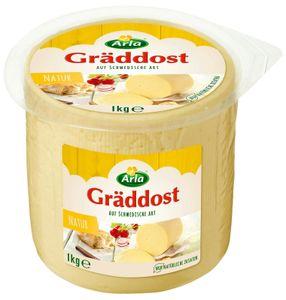 Arla Gräddost Natur 1KG Butterkäse