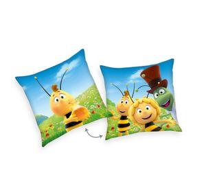 Biene Maja Kissen Kuschelkissen Dekokissen 40 x 40 cm
