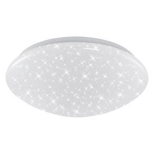 LED Deckenlampe Sternendekor weiß Ø28 cm Metall/Kunststoff Briloner Leuchten