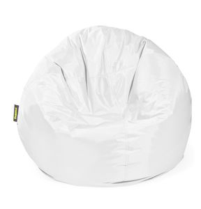 Pushbag - Sitzsack Bag 500 - Bezug Oxford in Weiß - 90cm