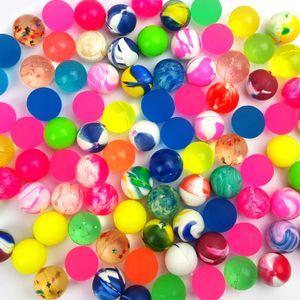 100 Stück Flummi 20mm Gummiball Bouncing Ball Springball Hüpfball Mitgebsel
