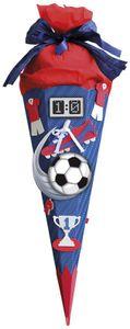 Schultüten-Bastelset Soccer blau 68 cm ROTH