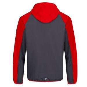 Regatta Softshelljacke Herren dünn mit Kapuze , Größe:(3XL) XXXL, Farbe:Rot