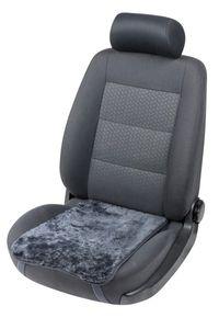 weiches Lammfell Auto Sitzkissen Molly anthrazit, Lammfell Sitzauflage, ca. 55x36 cm