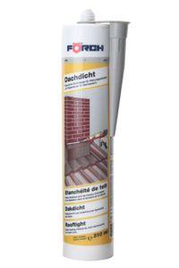 Förch Dachdicht - grau - Elastische Dichtungsmasse für Wartungsarbeiten und Reparaturen im Dachbereich 310ml