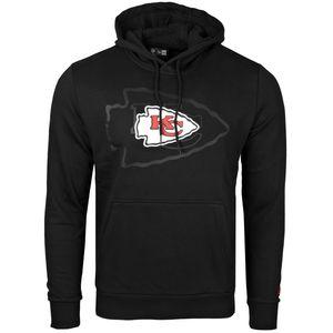 New Era Fleece Hoody - NFL Kansas City Chiefs 2.0 schwarz
