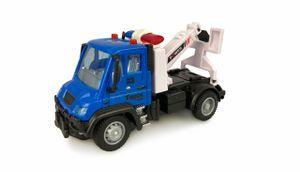 Mini Truck Abschleppfahrzeug, ferngesteuert, ab 3 Jahre, 1:64 2,4GHz RTR inkl. Fernsteuerung, Akku und Ladekabel, blau