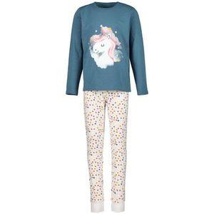 name it Mädchen Pyjamas-Nachtwäsche in der Farbe Grün - Größe 146-152