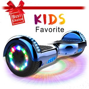 Hoverboard 6,5 Zoll Hover Scooter Board Elektro Scooter Smart Scooter Self Balance Board - Bluetooth - LED Lichter