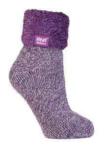 Heat Holders 1 Paar Bettsocken Damen Stoppersocken ABS Antirutsch Kuschelsocken Socken 37-42 eur