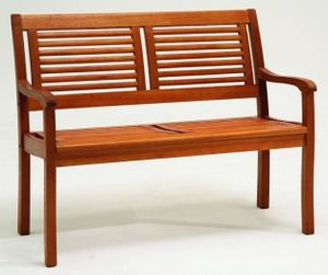 Bank 2-Sitzer Eukalyptus