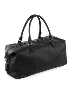 Reisetasche NuHide Weekender | 56 x 28 x 29 cm - Farbe: Black - Größe: 56 x 28 x 29 cm