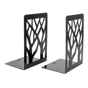 1 Paar Neue Zeitgenössische Matte Einfache Metall Buchstützen Buchstützen Paar Schwarz