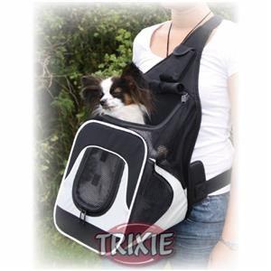 Trixie Fahrrad Fronttasche Savina schwarz / grau 30 x 33 x 26 cm