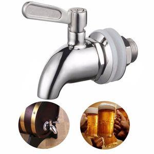 304 Edelstahl Zapfhahn Wasserhahn Bierhahn Bierzapfhahn für Getränkespender Bar