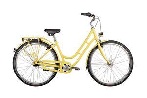 28 Zoll Alu VAUN Damen Fahrrad City Bike Shimano Nexus Nabendynamo Rh50 gelb