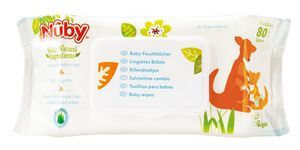 Baby-Feuchttücher – 80 Stück - 0M+