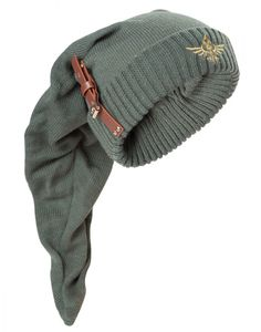 Zelda - Pointy Beanie with Polyurethanstrap and buckle