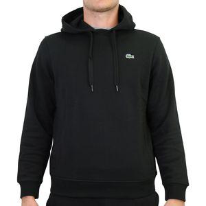 Lacoste Sport Hoodie Sweatshirt Herren Schwarz (SH1527 C31) Größe: 4 (M)