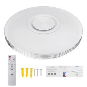 Meco Dimmbar 60W 84LED RGBW LED Deckenleuchte bluetooth Lautsprecher Ceilng Lampe APP Remote Fernbedienung