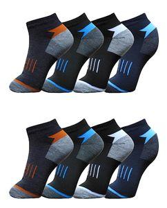 6 Paar Socken Sport - Sneaker - Socken Kurzsocken Gr. 43-46