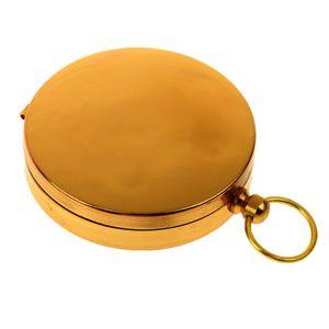 Gold Vintage Charm Messing Taschenkompass Für Tourismus Bergsteigen Zyklus
