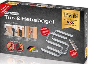 Fried Elements Türheber Montagehilfe Plattenheber im Set 3 tlg 2 Bügel & 1 Hülse