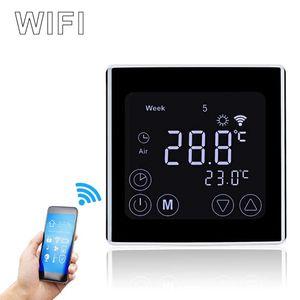 Digital Raumthermostat WiFi LCD Fußbodenheizung Wandthermostat Thermostat Programmierbar