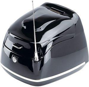 Topcase »Retro Firenze«, Zubehör, schwarz