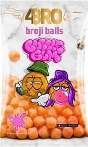 4Bro - Broji Balls Bubble Gum 75g Maisbällchen