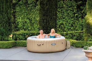 Intex Pool PureSPA 'Bubble' Whirlpool 165cm Durchmesser x 71cm hoch für 6 Personen