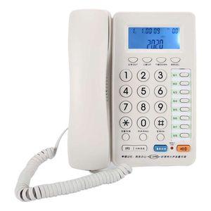 Mllaid Schnurgebundenes Tischtelefon,Festnetztelefon Freisprechfunktion,Festnetztelefon Büro Büro Schnurgebundenes Telefon Tisch Großes Display