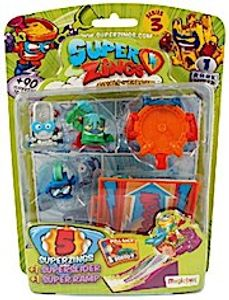 SuperZings 3 - Blister 5 Sliders