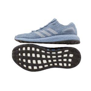 Adidas Pureboost silber/grau UK 8,5 // 42 2/3