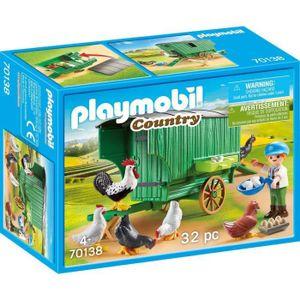 PLAYMOBIL Mobiles Hühnerhaus, 70138
