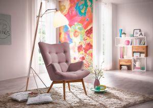 Max Winzer Aiko Hochlehnsessel - Farbe: aubergine - Maße: 74 cm x 81 cm x 98 cm; 25071-1100-1645262-F01