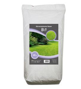 Rasensamen Rasen Dürreresistenter Grassamen Saatgut Gras Grassaat Rasensaat 10 kg